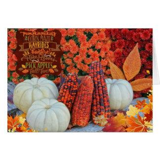 Autumn Favorites Greeting Card
