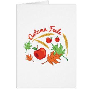 Autumn Feels Card