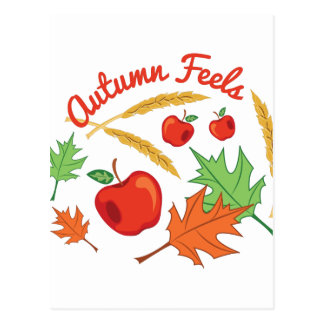 Autumn Feels Postcard