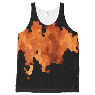 Autumn Fire All-Over-Print Tank Top