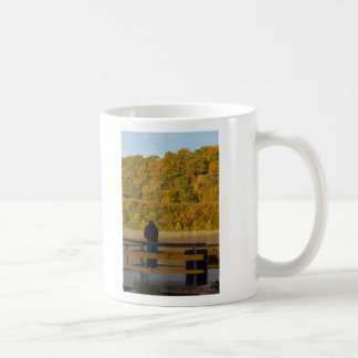 Autumn Fishing Lake Springfield Coffee Mug