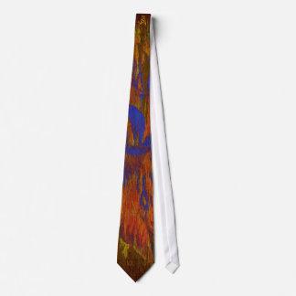 Autumn Flame Tie
