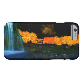 Autumn Flames iPhone 6/6s Barely There Phone Case