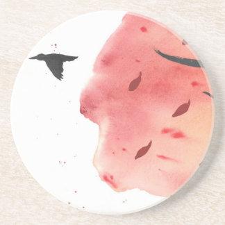 Autumn Flight Beverage Coaster