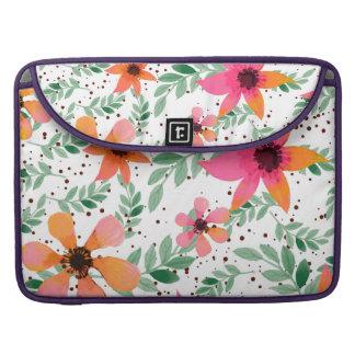 Autumn Flora Sleeve For MacBooks