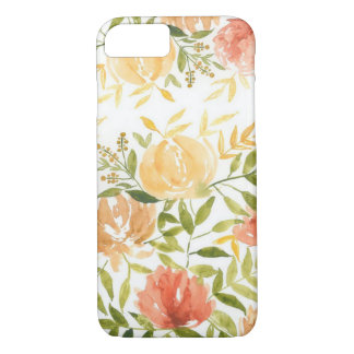 Autumn Floral iPhone 8/7, Barely There Phone Case