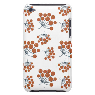 Autumn Flower Pattern iPod Touch Cases