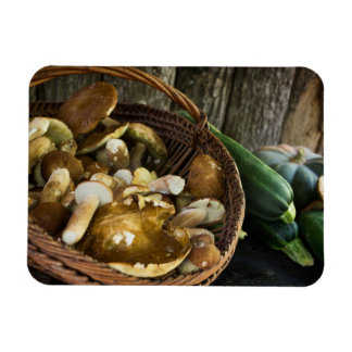 Autumn food still life photo magnet