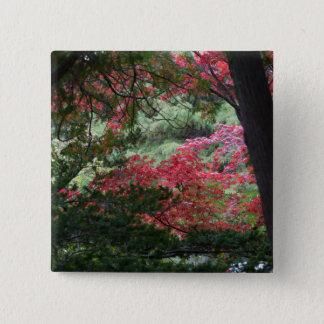 Autumn Forest 2 Inch Square Button