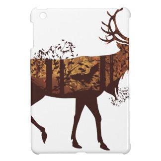 Autumn Forest Landscape and Deer 2 iPad Mini Case
