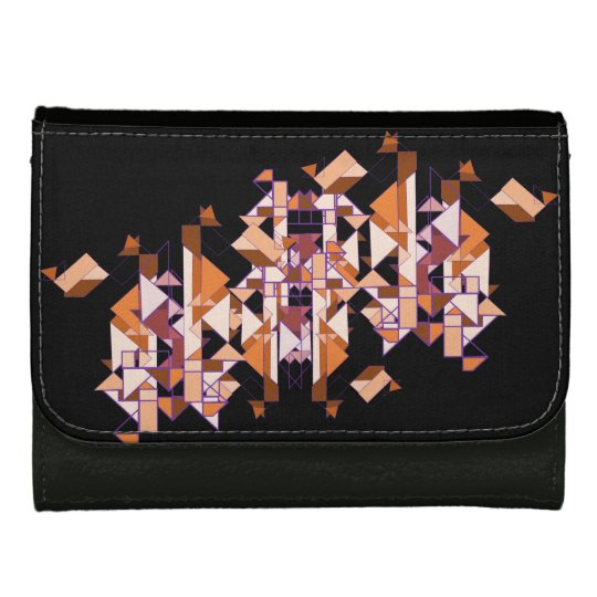 Autumn Forest Leather Wallets