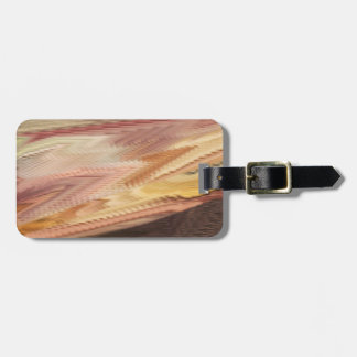 Autumn Fountain Personalized Luggage Tag