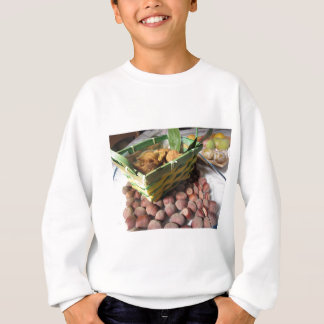 Autumn fruits with hazelnuts and dried figs sweatshirt