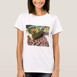 Autumn fruits with hazelnuts and dried figs T-Shirt