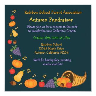 Autumn Fundraiser Invitation