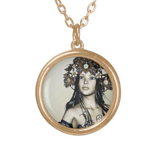 Autumn Girl Custom Jewelry