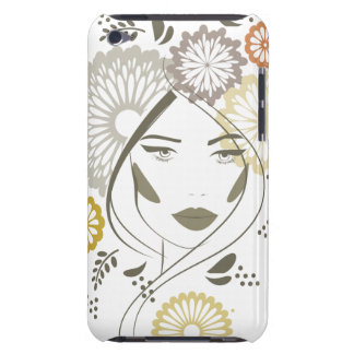Autumn girl portrait iPod Case-Mate case