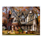 Autumn - Gnome home Postcard