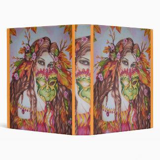 Autumn Goddess Harvest Moon Masquerade Binder