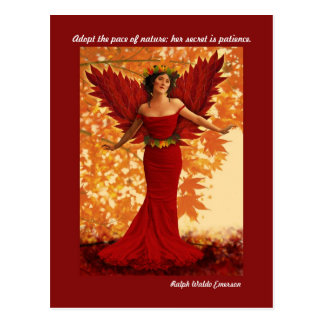 Autumn Goddess Postcard