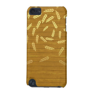 Autumn Gold Leaves Pattern iPod Touch (5th Generation) Case