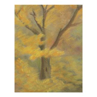 Autumn Gold Letterhead