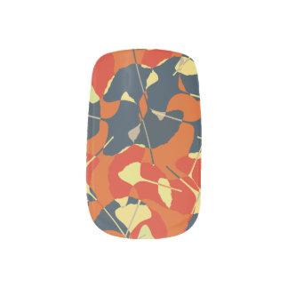 Autumn Gold Minx Nail Art