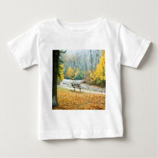 Autumn Greenough Park Missoula Montana Baby T-Shirt