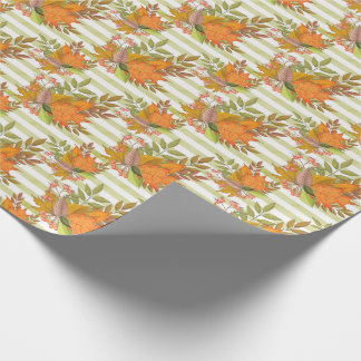Autumn Hand Painted Illustration Wrapping Paper