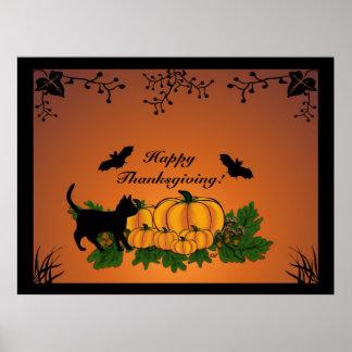autumn, Happy Thanksgiving ! Poster