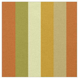 Autumn Harvest Bold Stripes Fabric