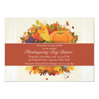 Autumn Harvest Invitation