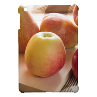 Autumn harvest of apples and pears iPad mini cover