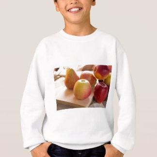 Autumn harvest of apples and pears sweatshirt