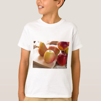 Autumn harvest of apples and pears T-Shirt