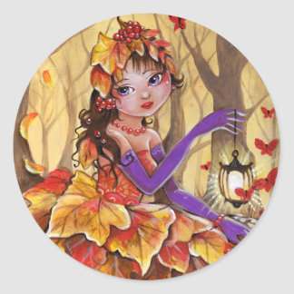 Autumn has come - Round sticker