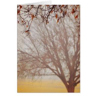 Autumn Haze 10 Greeting Card
