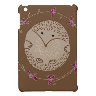 Autumn hedgehog iPad mini covers