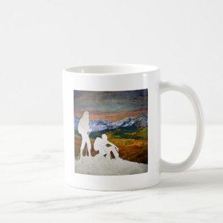 Autumn hike coffee mug