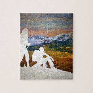 Autumn hike jigsaw puzzle