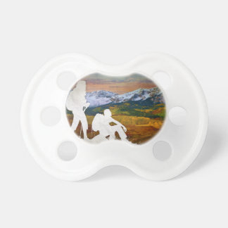Autumn hike pacifier