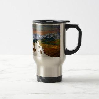 Autumn hike travel mug