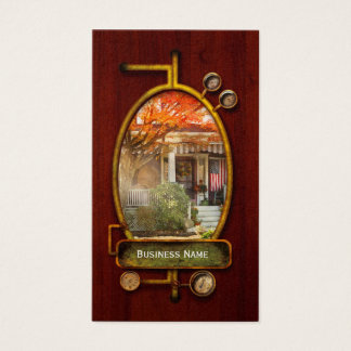 Autumn - Home is where your story begins Business Card
