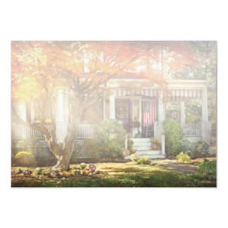 Autumn - Home is where your story begins Card