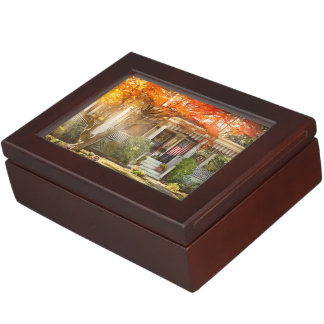 Autumn - Home is where your story begins Keepsake Box