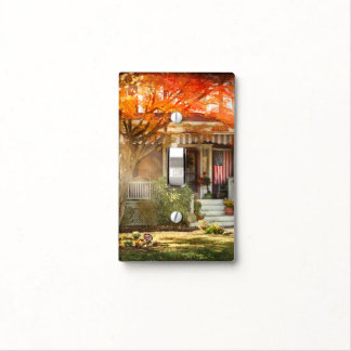 Autumn - Home is where your story begins Light Switch Cover