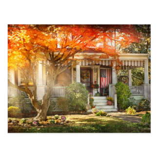 Autumn - Home is where your story begins Postcard