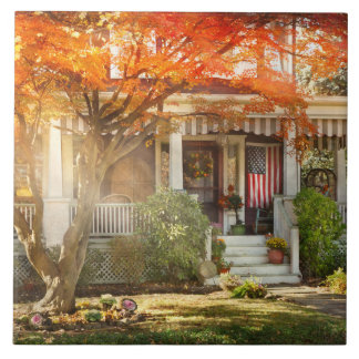 Autumn - Home is where your story begins Tile