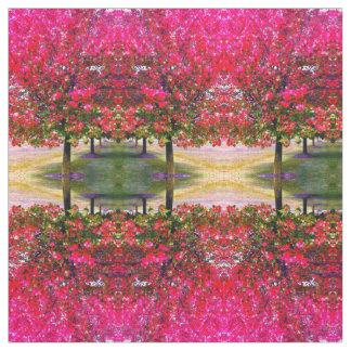 Autumn impression fabric