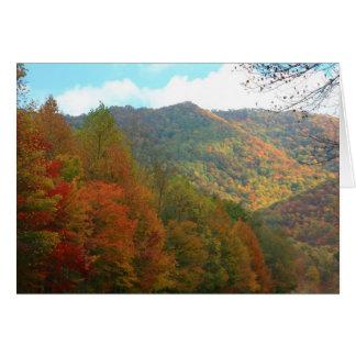 Autumn in Appalachia Card
